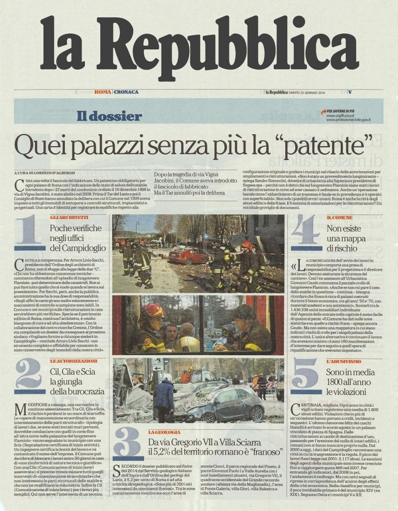 la Repubblica Roma 1