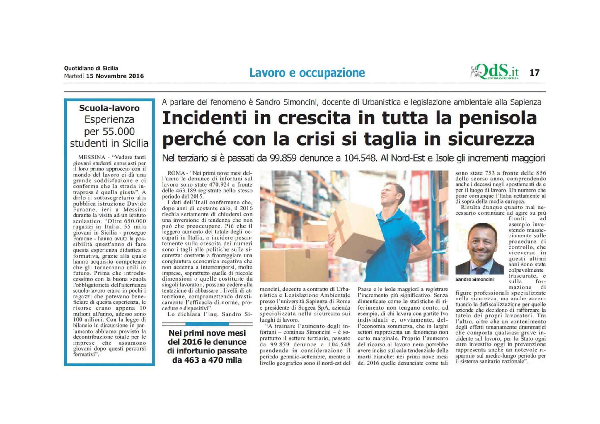 quotidiano di sicilia 15 novembre 2016