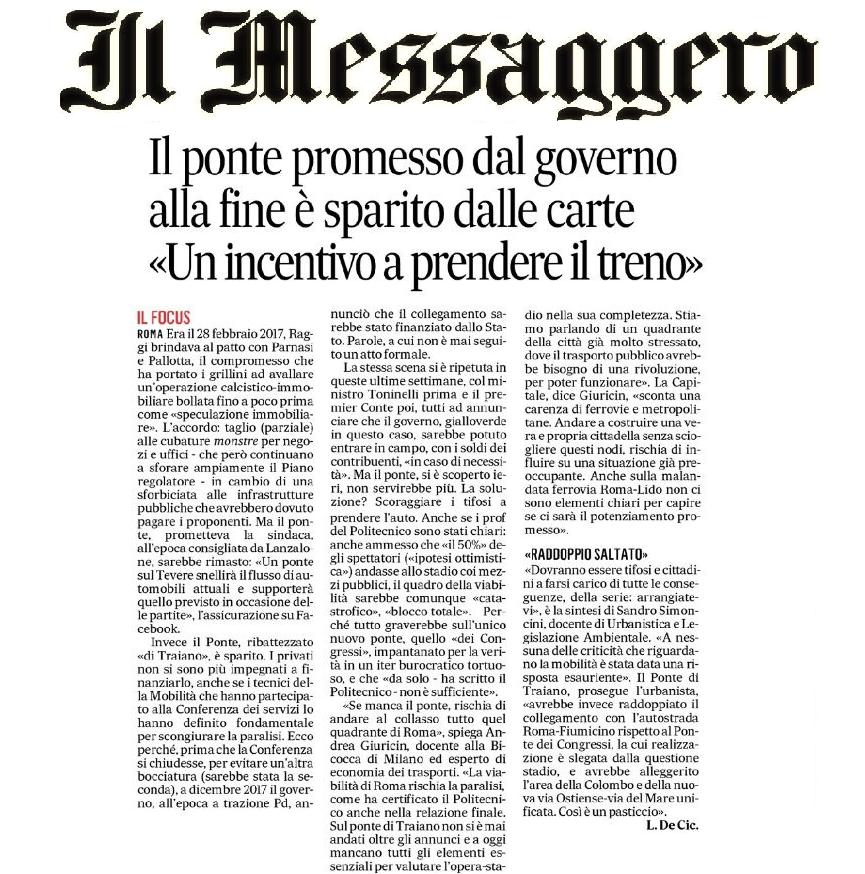06.02 Il Messaggero