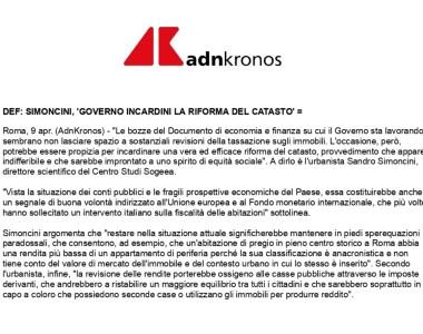09.04 AdnKronos